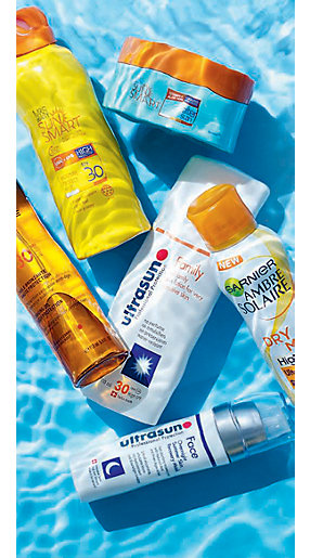 Image of sun creams