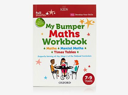 My bumper maths workbook
