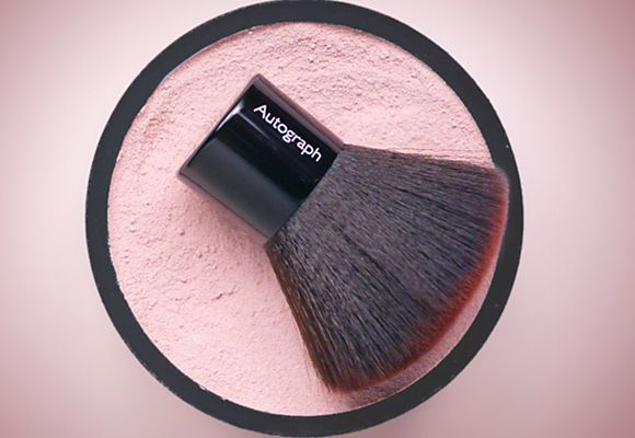 A blusher brush & powder from the Autograph make-up range
