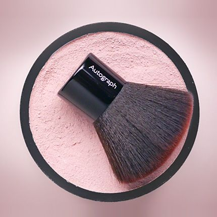 A blusher brush & powder from Autograph make-up range