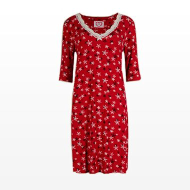 Silky and comfortable nightdress