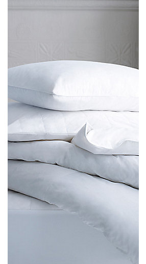 Pillows and duvets
