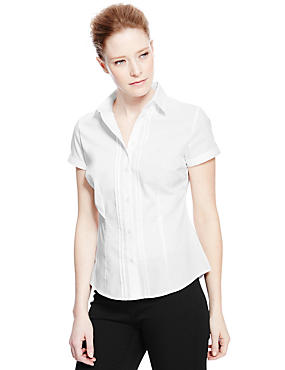 Ladies blouses shirts jerseys womens clothing for No iron white shirt womens