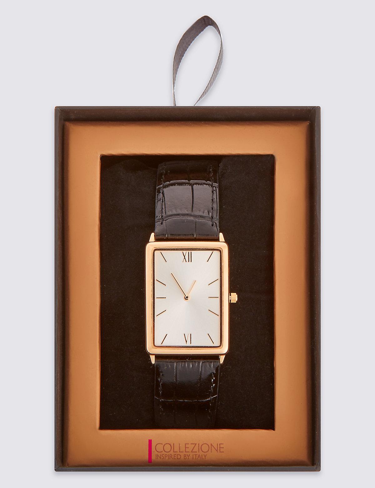 Collezione Slimline Rectangular Watch