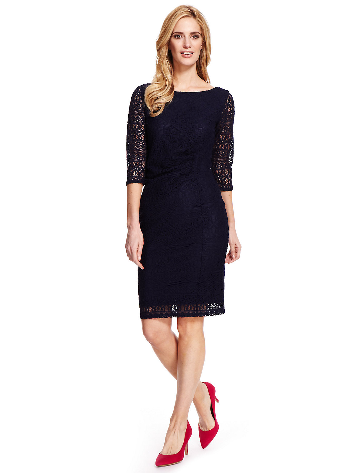 M & S Collection Knitted Shift Dress