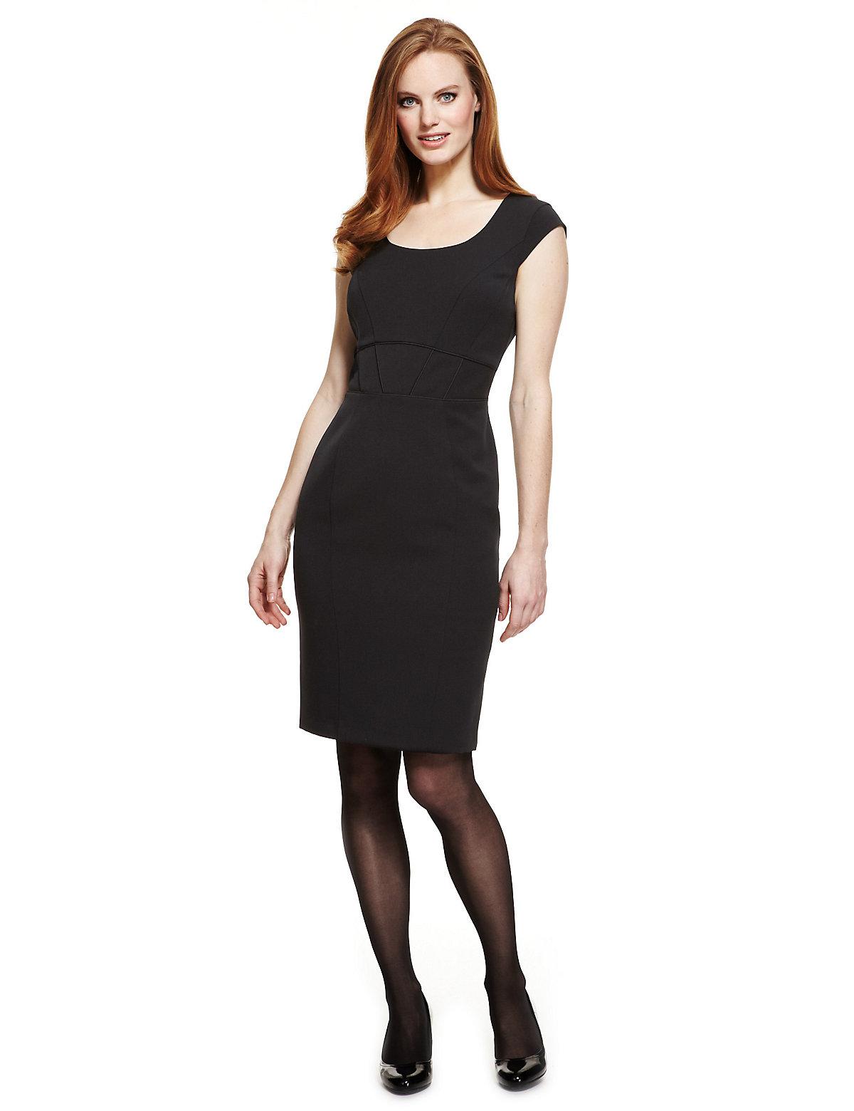 M & S Collection Grosgrain Shift Dress
