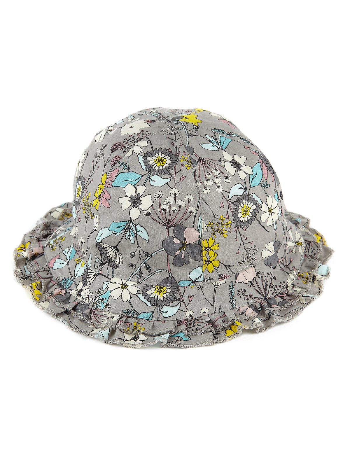 Pure Cotton Floral Hat