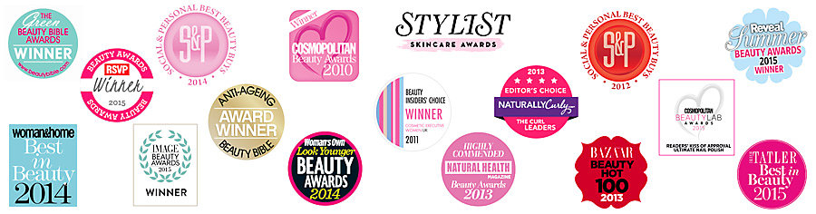 Beauty and cosmetic awards