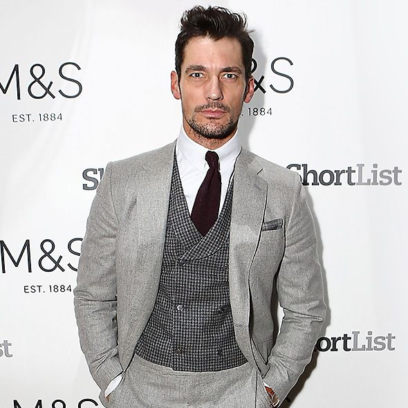 David Gandy at the event