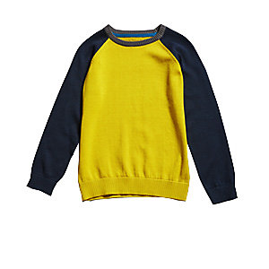 Pure Cotton Long Sleeve Jumper