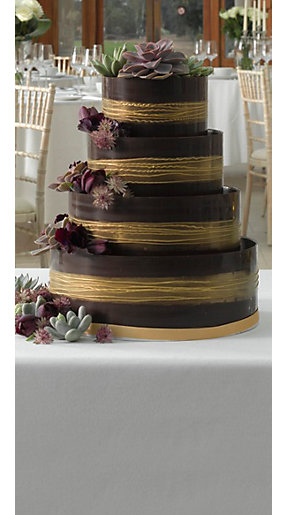 Red And Grey Wedding Cake Ideas