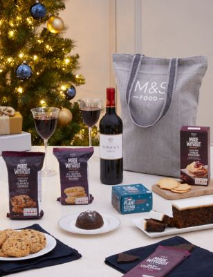 The Gluten Free Christmas Food Gift Bag | M&S