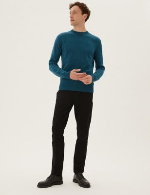 Pure Cotton V Neck Jumper | M&S Collection | M&S