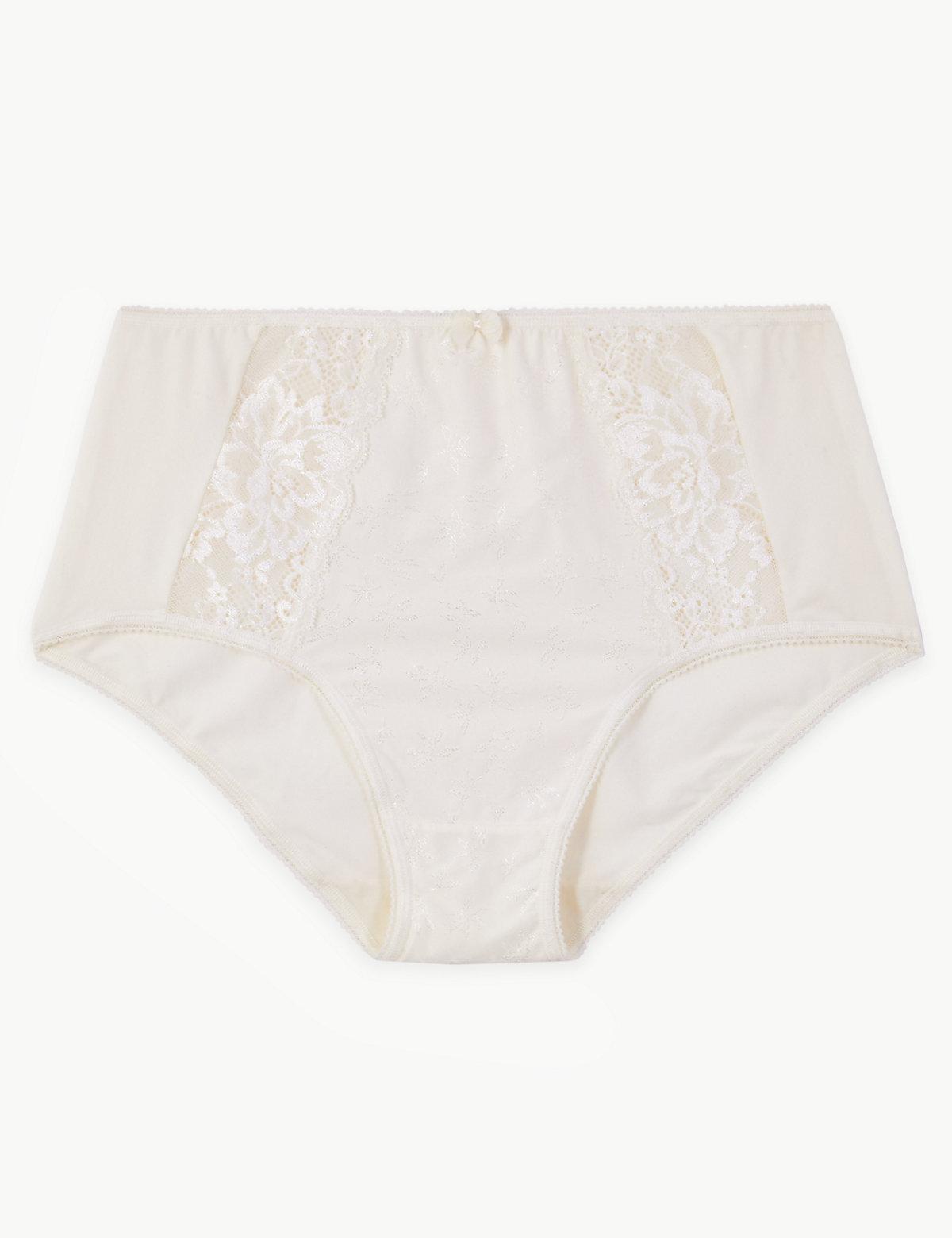 M/&s Lingerie Taille 26 la Un Confort Ultime Flexifit Bikini Briefs Knickers £ 6
