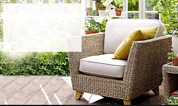 Bermuda Armchair. This Stylish Wood And Rattan Chair ...