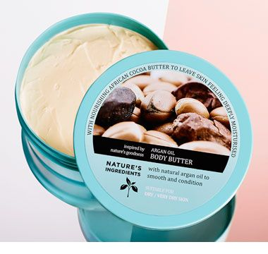 Nature's Ingredients Argan Oil Body Butter